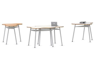Table scolaire position debout par IA France