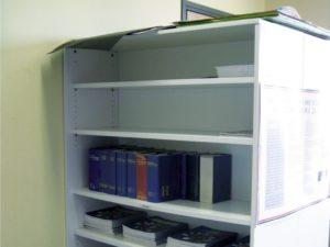 Bibliothèque Largeur 90 cm sans porte, avec tablettes amovibles