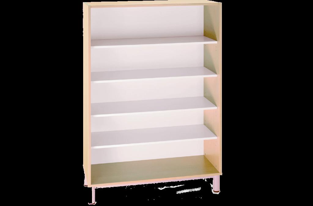 Bibliothèque ou armoire sans porte L90