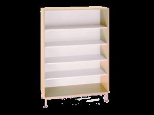 Bibliothèque sans porte de largeur 90 cm