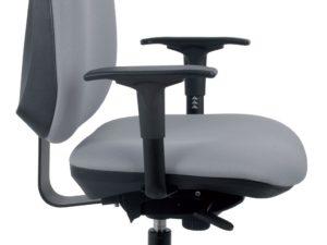 Chaise de bureau ergonomique Black par IA France