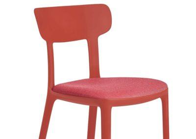 Chaise tendance Cherry, pour cafétéria, collectivités