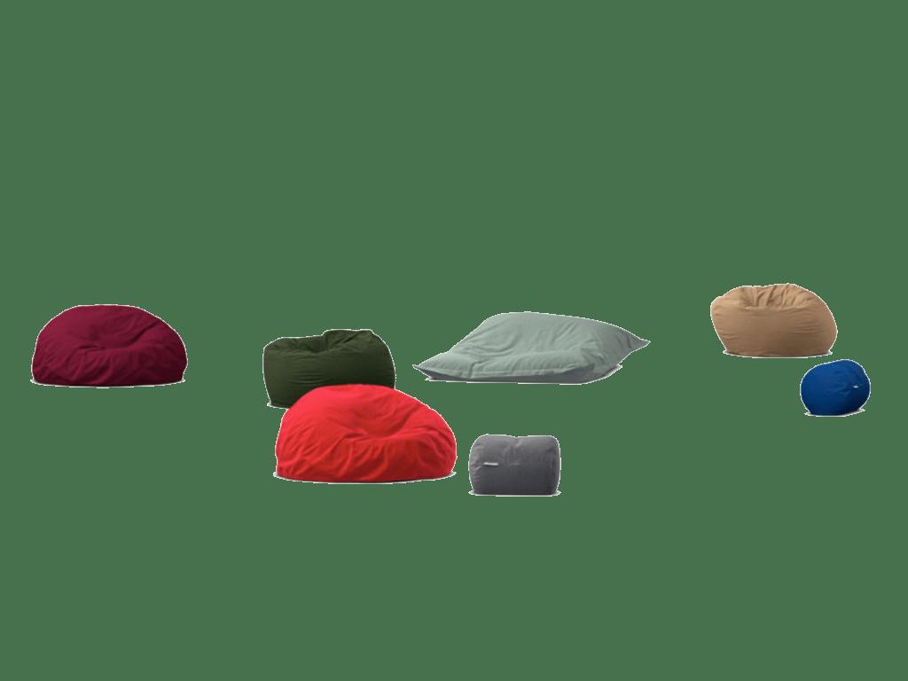 Pouf et coussin de sol Cloud, mobilier scolaire pour maternelle primaire