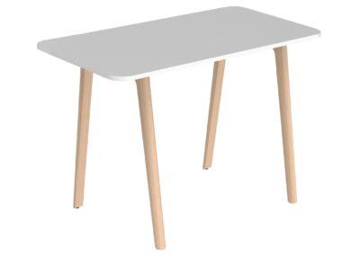 Table haute IA France comme mobilier d'entreprise