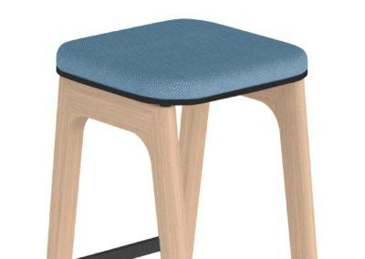Tabouret haut, mobilier professionnel design et confortable