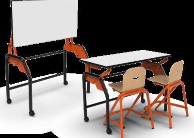 Programme Bi Plan – Table et tableau scolaires 2 en 1